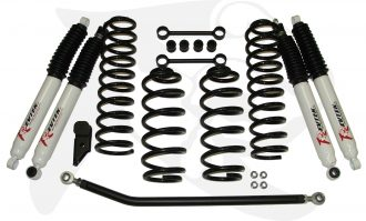 Revtek 3 inch Suspension Lift Kit with Coils for 2007-2014 Jeep Wrangler JK