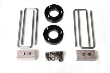2.5 inch Lift Kit with Front Spacers, 2 inch Rear Blocks and U-Bolts For F150