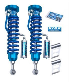 "King 2"" Lift 2.5 Body Front Reservoir Coilovers for 2005-2017 Toyota Tacoma"