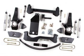 "Zone Offroad 6"" Knuckle & Bracket Kit Lift Kit 1997-2003 Ford F150 4WD"