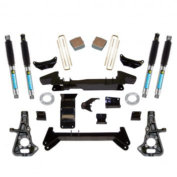 """SuperLift 6"""" Lift Kit with Bilstein Shocks for 1999-2010 2500 NON HD and 2001-2006 1500HD - Knuckle Style Kit"""