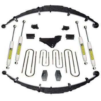"SuperLift 4"" Lift Kit For 2000-2004 Ford F-250 and F-350 Super Duty 4WD - Diesel and V-10 - with Superide Shocks"